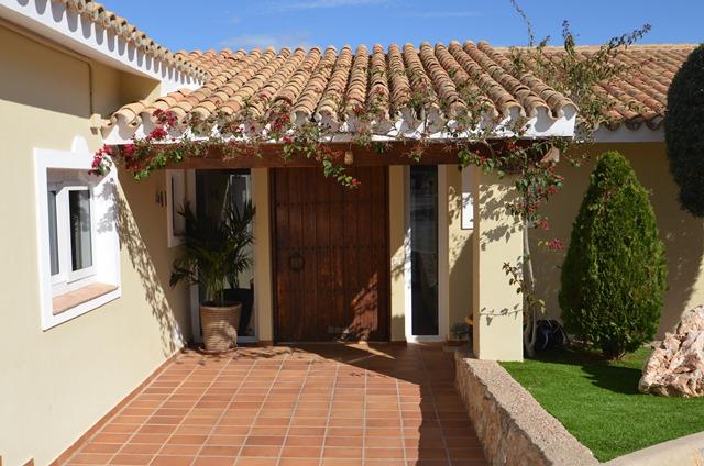 Casa Rosa Entrance