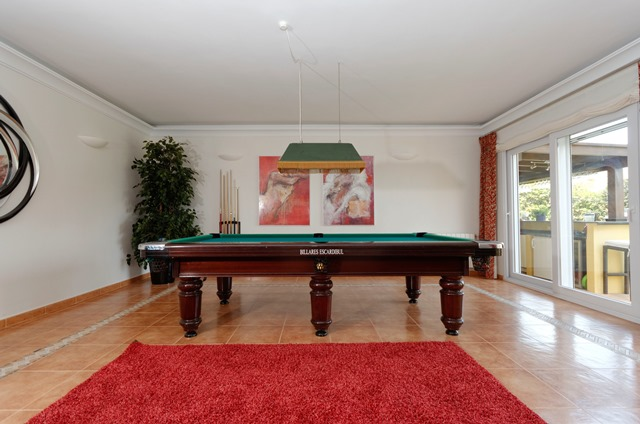 Sunset House Games Room